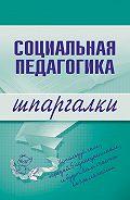 Д. В. Альжев - Социальная педагогика