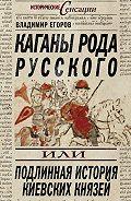 Владимир Борисович Егоров - Каганы рода русского, или Подлинная история киевских князей