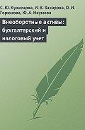 О. Горюнова -Внеоборотные активы: бухгалтерский и налоговый учет