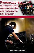 Александр Строганов -Руководство по самостоятельному созданию сайта для музыканта или диджея