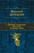 Василий Шукшин -Привет Сивому