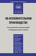 Л. В. Кузнецова -Комментарий к Федеральному закону от 2 октября 2007г.№229-ФЗ «Об исполнительном производстве» (постатейный)