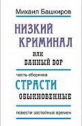 Михаил Башкиров -Низкий криминал, или Банный вор