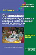 Борис Тупоногов - Организация коррекционно-педагогического процесса в школе для слепых и слабовидящих детей. Методическое пособие