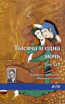 Эпосы, легенды и сказания - Тысяча и одна ночь. Том XIII