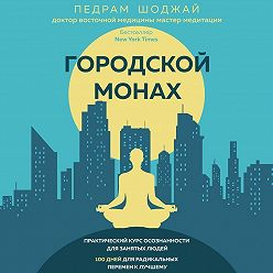 Педрам Шоджай - Городской монах. Практический курс осознанности для занятых людей. 100 дней для радикальных перемен к лучшему