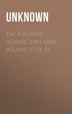 Unknown - The Philippine Islands, 1493-1898. Volume 27 of 55