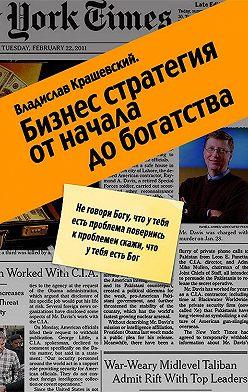 Владислав Крашевский - Бизнес-стратегия от начала до богатства