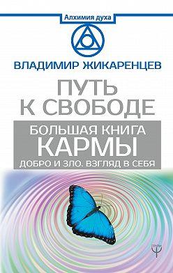 Владимир Жикаренцев - Большая книга Кармы. Путь к свободе. Добро и Зло. Взгляд в себя