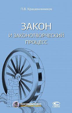 Павел Крашенинников - Закон и законотворческий процесс