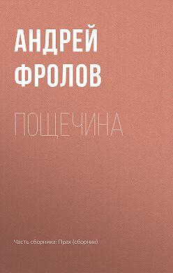 Андрей Фролов - Пощечина