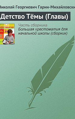 Николай Гарин-Михайловский - Детство Тёмы (Главы)