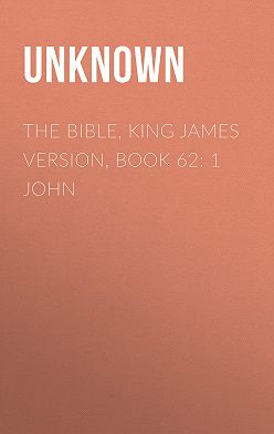 Unknown Unknown - The Bible, King James version, Book 62: 1 John