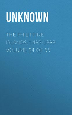 Unknown - The Philippine Islands, 1493-1898. Volume 24 of 55