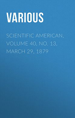Various - Scientific American, Volume 40, No. 13, March 29, 1879
