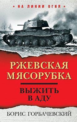 Борис Горбачевский - Ржевская мясорубка. Выжить в аду