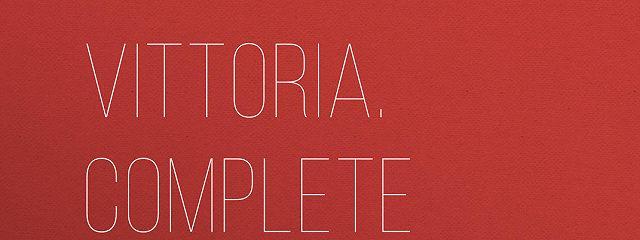 Vittoria. Complete