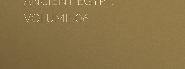 Uarda : a Romance of Ancient Egypt. Volume 06