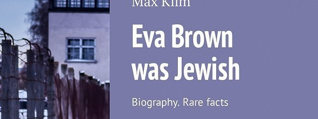Eva Brown was Jewish. Biography. Rare facts
