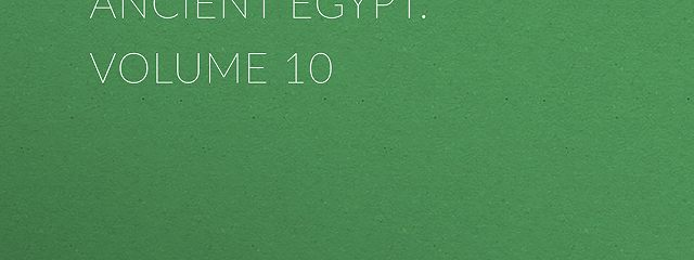 Uarda : a Romance of Ancient Egypt. Volume 10
