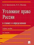 Александр Бриллиантов -Уголовное право России в схемах и определениях. 2-е издание