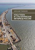 Александр Травников -Коса Тузла истратегические интересы России