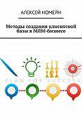 Алексей Номейн -Методы создания клиентской базы в МЛМ-бизнесе