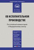 Л. В. Кузнецова, К. В. Алёхин - Комментарий к Федеральному закону от 2 октября 2007г.№229-ФЗ «Об исполнительном производстве» (постатейный)