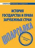 Юлия Марочкина -История государства и права зарубежных стран. Шпаргалка