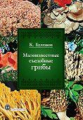 Касим Булгаков - Малоизвестные съедобные грибы