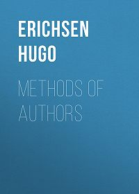 Hugo Erichsen -Methods of Authors