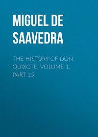 Miguel Cervantes -The History of Don Quixote, Volume 1, Part 15