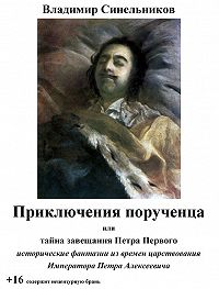 Владимир Синельников - Приключения порученца, или Тайна завещания Петра Великого