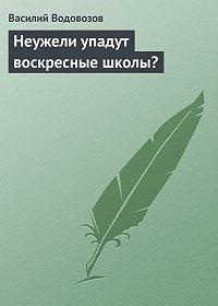 Василий Водовозов -Неужели упадут воскресные школы?