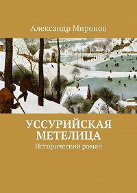 Александр Миронов -Уссурийская метелица. Исторический роман