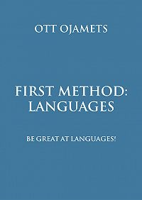 Ott Ojamets -First method: languages