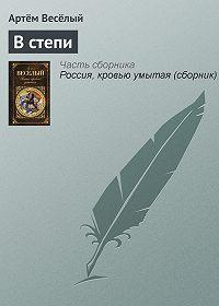 Артём Весёлый - В степи