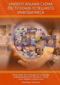 Александр Строганов - Универсальная схема построения успешного инфобизнеса
