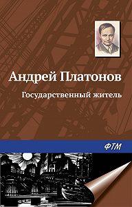 Андрей Платонов -Государственный житель