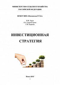 Татьяна Федоровна Боряева -Инвестиционная стратегия