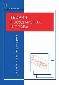 Коллектив авторов -Теория государства и права. Схемы и комментарии