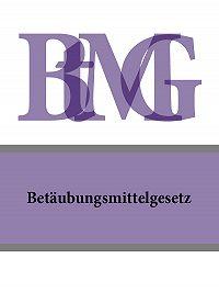 Deutschland -Betäubungsmittelgesetz – BtMG