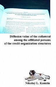 Николай Камзин -Diffusion value of the collateral among the affiliated persons of the credit organization structures