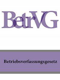 Deutschland - Betriebsverfassungsgesetz – BetrVG
