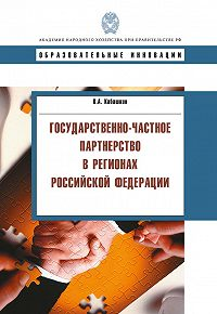 Виктор Кабашкин - Государственно-частное партнерство в регионах Российской Федерации