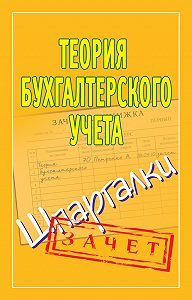 Наталья Ольшевская - Теория бухгалтерского учета. Шпаргалки