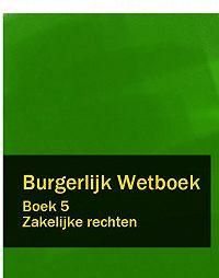 Nederland -Burgerlijk Wetboek boek 5