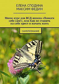 Елена Сподина, Максим Федин - Мини-курс для ВСД-шника «Помоги себе сам!», или Как не ставить на себе крест и начать жить