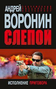 Андрей Воронин -Слепой. Исполнение приговора