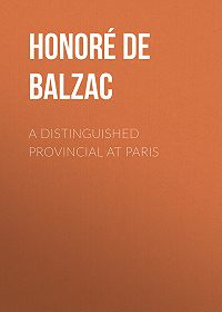 Honoré de -A Distinguished Provincial at Paris